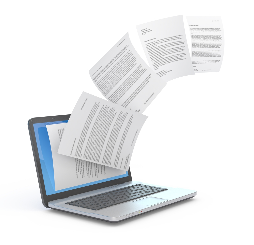 Copying documents you find online might not be allowable.